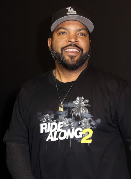 BERLIN, GERMANY - JANUARY 18:  Ice Cube poses during a photo call for the film 'Ride Along: Next Level Miami' at Kino in der Kulturbrauerei on January 18, 2016 in Berlin, Germany.  (Photo by Adam Berry/Getty Images)