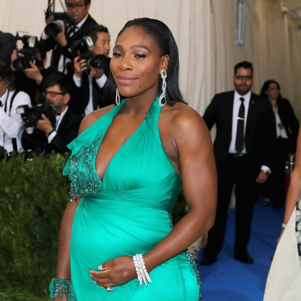 Photo Serena Williams Poses Nude For Pregnancy Shoot-6035