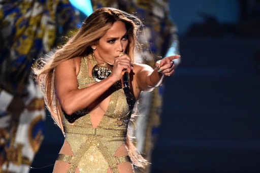 Image result for jennifer lopez on stage