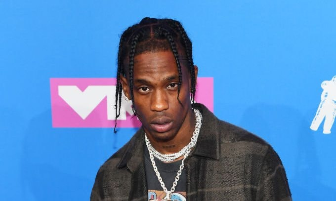NEW YORK, NY - AUGUST 20:  Travis Scott performs onstage during the 2018 MTV Video Music Awards at Radio City Music Hall on August 20, 2018 in New York City.  (Photo by Theo Wargo/Getty Images)